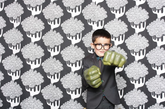 Clark Kent slash Superman disguised as Hulk!